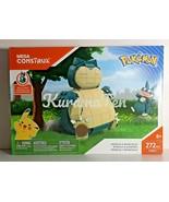 Mega Construx Pokémon Snorlax and Munchlax Set #FPM11  272 pcs 8+ NEW - $69.92