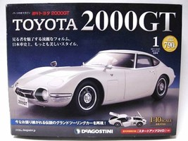 DeAGOSTINI Weekly 1/10 TOYOTA 2000GT 1-65 Full Kit New! Model car - $1,930.49