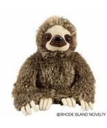 Rhode Island Novelty Brown Sloth Plush Stuffed Animal Toy 11 1/2 Inch - $18.38