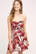 New Anthropologie Nara Romper by Paper Crown SMALL Red Motif $188 - $47.52