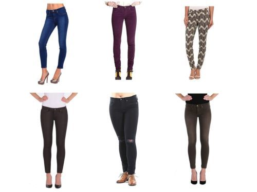 Henry & Belle Lila Skinny Ankle Jeans Pants Assorted Washes Colors Licensed NEW