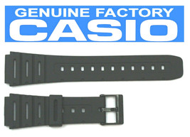 CASIO CA-53W 20mm Black Rubber Watch BAND CA-61W W-520 W-720 W-722 W-741... - $14.04