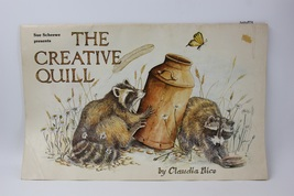 "Vintage Painting Drawing Book ""The Creative Quill"" Claudia Nice Scheewe ... - $30.00"