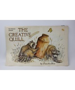 """Vintage Painting Drawing Book """"The Creative Quill"""" Claudia Nice Scheewe ... - $30.00"""