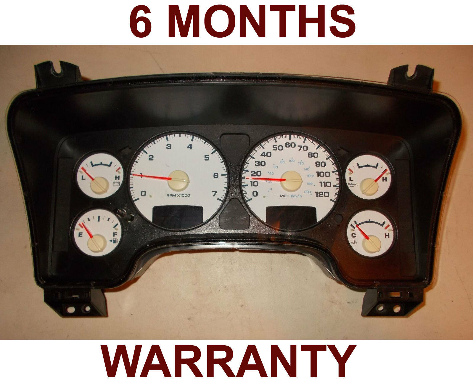 Primary image for 2004 DODGE RAM 1500 2500 SPEEDOMETER INSTRUMENT CLUSTER