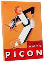 "Pingo World 0616QP27A1Y ""L 'Aperitif Pico Vintage"" Advertising Poster Gallery Wr - $57.37"