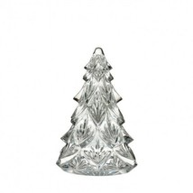 """Waterford Christmas Tree Medium Clear 4.5"""" Sculpture Crystal New # 40005023 - $113.60"""