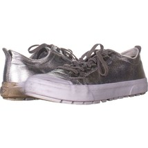 UGG Australia Aries Low Top Lace Up Sneakers 538, Silver, 11 US / 42 EU - $31.67