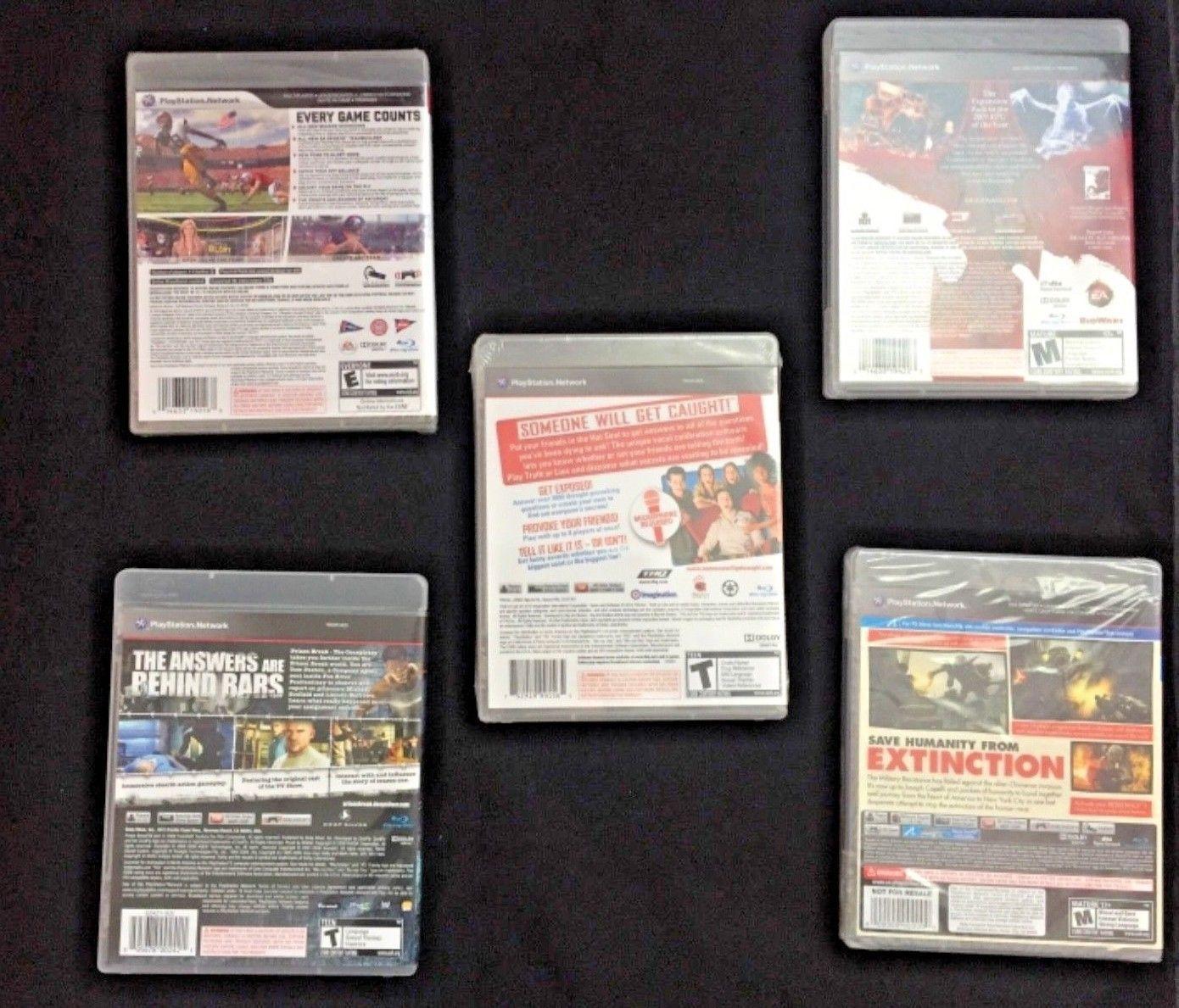 PS3 Video Games (see description)