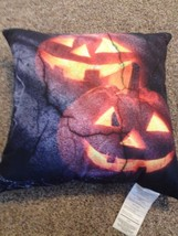 "Halloween Jack O Lantern Throw Pillow 16"" x 16"" NEW - €7,95 EUR"
