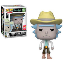 Rick and Morty Funko POP! Summer Convention Exclusive - Western Rick - $45.90