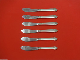 King Cedric by Oneida Sterling Silver Trout Knife Set 6pc HHWS  Custom Made - $398.05