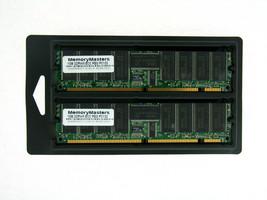 2GB  2X1GB MEMORY 128X72 168PIN PC133 6NS 3.3V ECC REG SDRAM RAM DIMM - $49.40