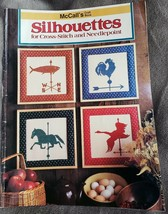 McCalls Craft Book Silhouettes Weathervanes Animals Children Counted Cross - $9.48