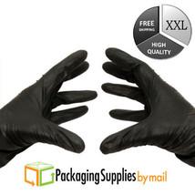 Nitrile Gloves 4 Mil Powder-Free Black Medical Exam Size 2X-Large 6000 P... - $313.58