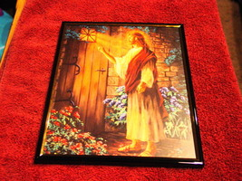JESUS 8X10 FRAMED PICTURE PRINT #4 - $13.40