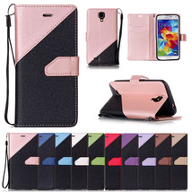 Flip Stand Cover Wallet Leather Case & Hand Rope for Samsung Galaxy S4 i9500 - $4.99+