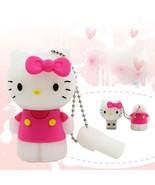 Usb Flash Drive Hello Kitty 16 gb Pendrive Flash Drive U Disk Memory Stick - $12.22