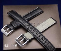 New Gucci 14 MM Black Crocodile Watch Band (14.115) - $29.95