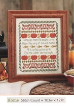 THE SONG OF HARVEST HOME  -  CROSS STITCH PATTERN ONLY  GU - EEEP - $7.38