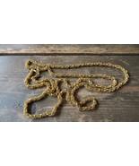 """Vintage 44"""" Gold Byzantine Bali Necklace - $13.46"""