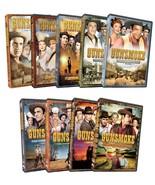 Gunsmoke Complete DVD Set Collection Season 1-5 Episodes Lot Series TV S... - $168.29