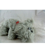 "Tonka Pound Puppies Newborns Furries Small 9"" Gray Schnauzer dog Plush - $13.85"