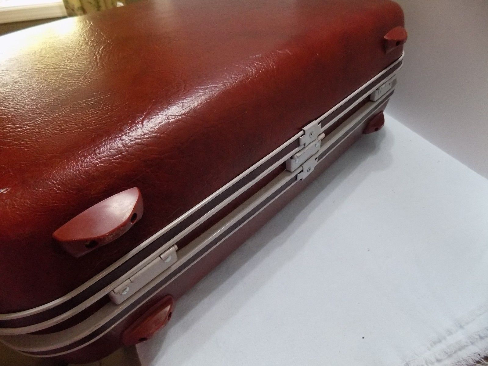 """Samsonite Silhouette 23"""" Hard Side Luggage  Suitcase WITH WET PACK"""