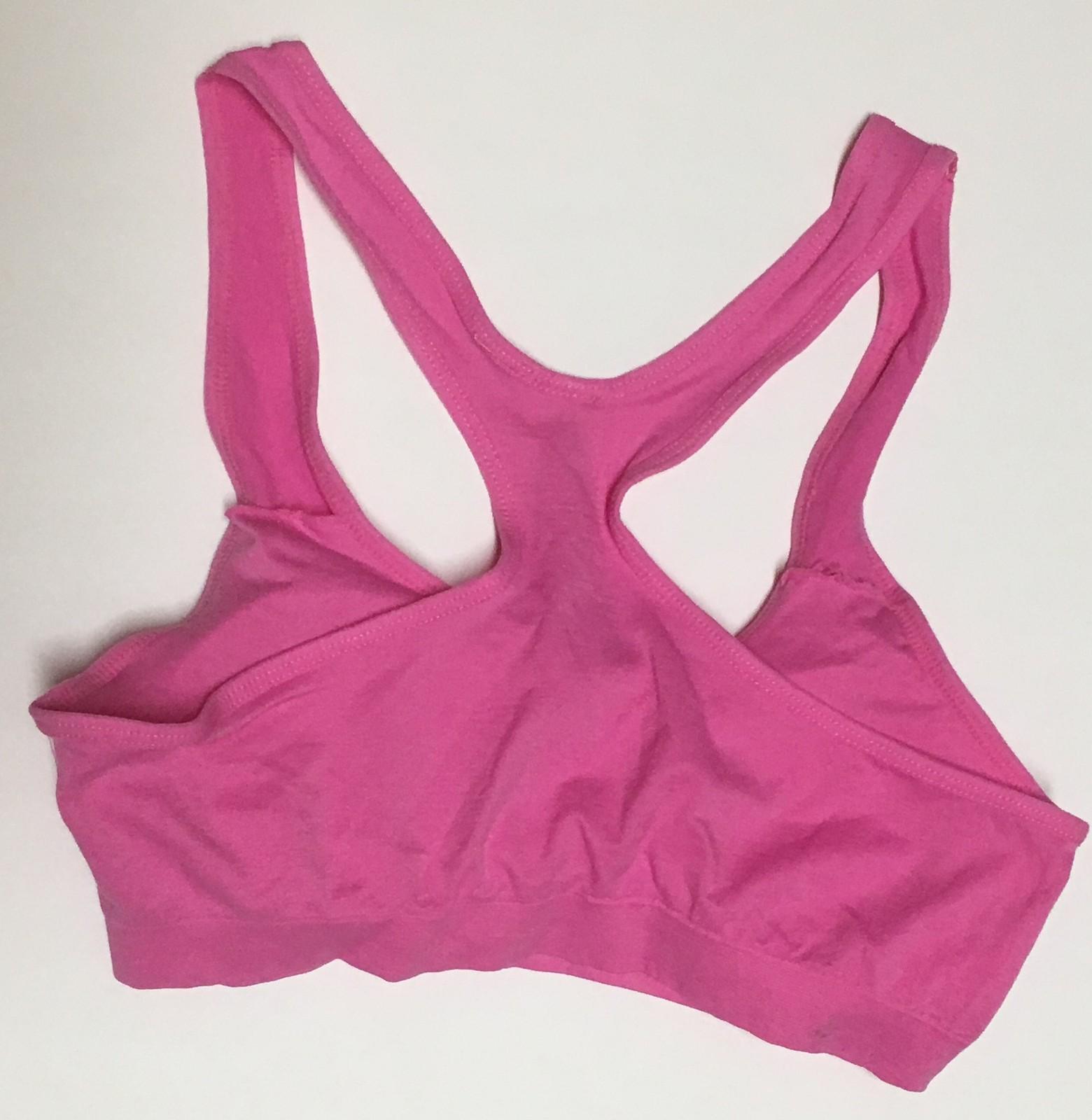 Women's Sport Support Bra Light Pink SZ Medium Light Padding image 3