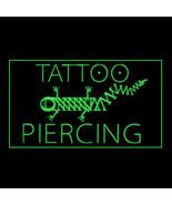 100087 Tattoo Piercing Frank Lizard Body Artwork Display LED Light Sign - $17.98