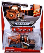 Disney Pixar Cars Race Team Mater with Headset Pit Crew Series - $14.46