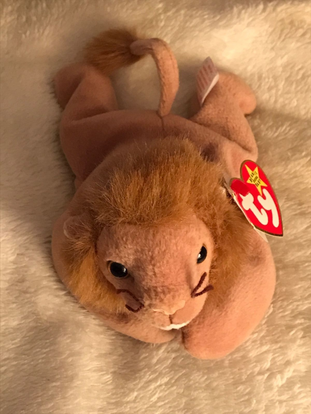 3162e70bf38 TY Beanie Baby Roary The Lion P.V.C. style and 13 similar items