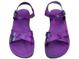 Leather Sandals for Women ARIELA by SANDALIM Biblical Greek Roman Sandals - $39.44 CAD+