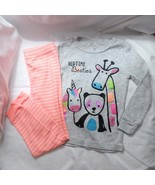 Night Life Pajama Set Size 3T Girls 2 piece - $26.63