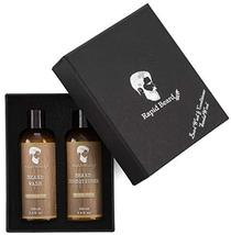 Beard Shampoo and Beard Conditioner Wash & Growth kit for Men Care - Sandalwood  image 4