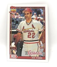 1991 Topps Baseball Card #351 - Joe Torre - St. Louis Cardinals - Manager - $0.99