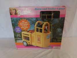 Barbie  Horse and trailer Gift set  New sealed Mattel 2000 made in Italy... - $121.02