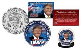 DONALD TRUMP Official JFK Half Dollar U.S Coin w/ COA - LIMITED EDITION ... - $9.95