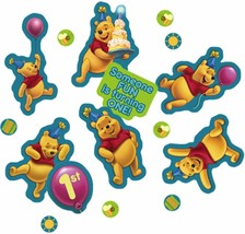 Winnie the Pooh 1st Birthday confetti Boy or Girl Table Decorations Party Supply - $8.59