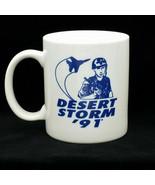 Desert Storm 91 Iraq Collectible Patriotic Coffee Mug USA American Flag ... - $10.99