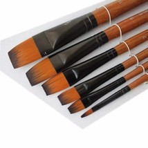 Acrylic Painting Paintbrushes Watercolor Brush Sets Painting Tools,6-Piece(1706)