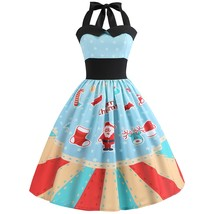 Christmas Printed Halter color MULTI size M - $17.28