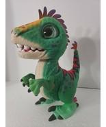 FurReal Friends MUNCHIN REX Baby Dinosaur Animated Interactive Green Col... - $19.34
