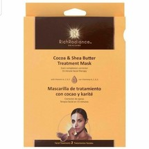 Rich Radiance Cocoa & Shea Butter Treatment Mask - 2 Facial Treatments - $6.88