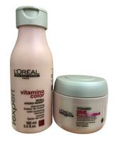 L'Oreal Vitamino Color Travel Shampoo 3.4 OZ & Masque 2.56 OZ set - $12.99
