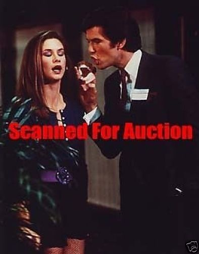 5X-982 STEPHANIE ZIMBALIST PIERCE BROSNAN REMINGTON STEELE PHOTO