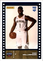 2019-20 Panini NBA Sticker Box Standard Size Insert #81 Zion Williamson ... - $39.95