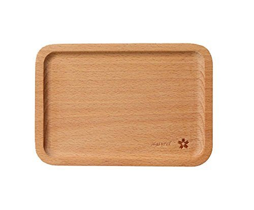 Environmental Wooden Safe Lovely Tray/Baby Tableware/Utensils for Baby(Flower)