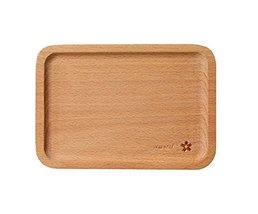 Environmental Wooden Safe Lovely Tray/Baby Tableware/Utensils for Baby(Flower)