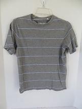 Boys Urban Up Gray Striped Shirt Size M - $6.79